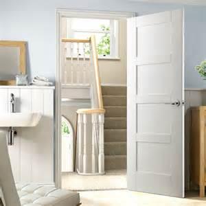 White Hinges On White Cabinets Shaker 4 Panel White Primed Door Shaker Style Panel Doors