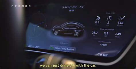 Tesla Android Tesla Model S Can Be Located Unlocked Stolen By