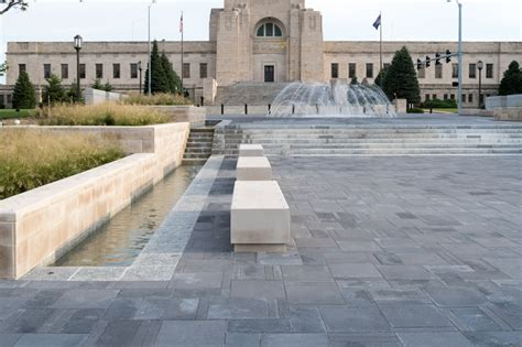 Landscape Supply Lincoln Ne Large Scale Paver Makeover For Lincoln S Centennial Mall