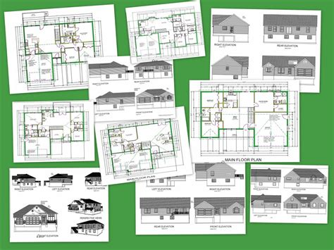 autocad plan for house cad house plans as low as 1 per plan