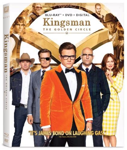 film streaming kingsman 2 kingsman the golden circle 4k blu ray dvd on december