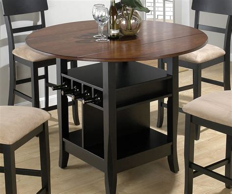 large counter height pub tables and chairs in sterling brown rug in iron legs