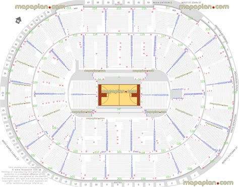 basketball arena floor plan sap center seat map hallsofavalon