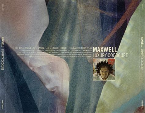 cococure maxwell promo import retail cd singles albums