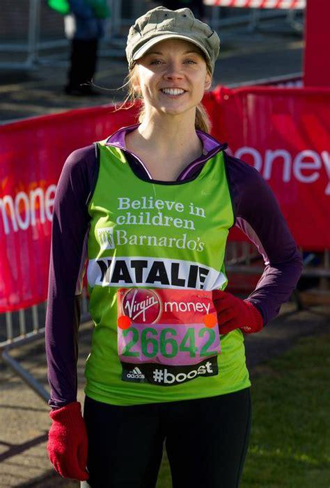 Natalie Dormer Marathon Of Thrones Natalie Dormer Warms Up Before