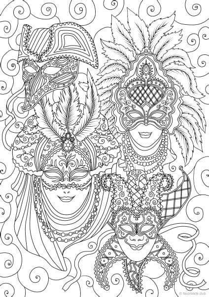 venetian masks coloring book for adults 4089 best zentangles colouring images on