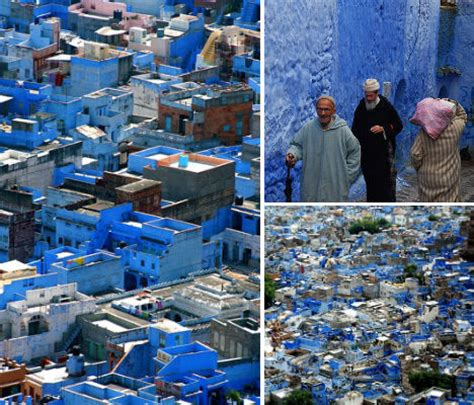 blue city in morocco all azure the monochromatic city of chefchaoen morocco