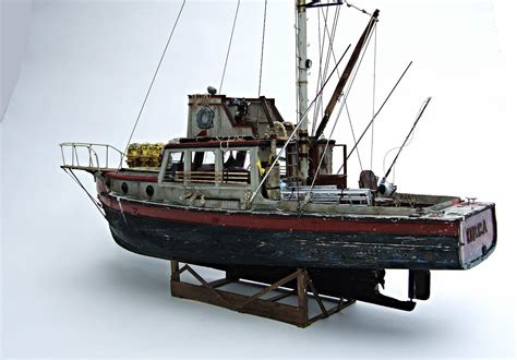 ebay wooden boat plans jaws orca wooden model boat wood lobster fishing trawler