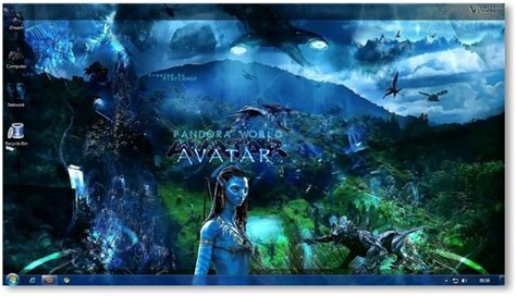 themes for windows 7 movies windows 7 themes avatar movie wallpapers theme for windows