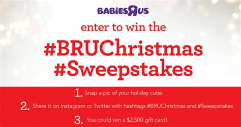 Babies R Us Sweepstakes - babies r us baby s first christmas sweepstakes babiesrus com bruchristmassweepstakes