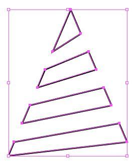 tutorial vektor ilustrasi menggambar pohon natal vektor dengan adobe illustrator