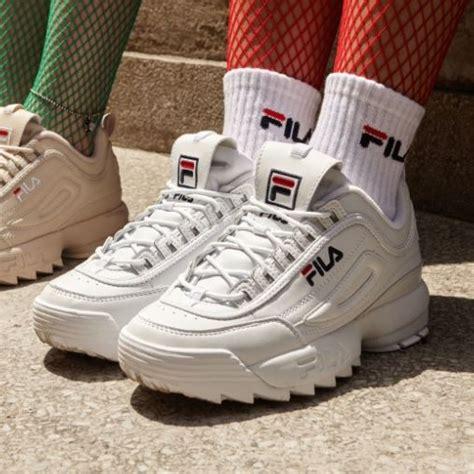Sepatu Fila Disruptor free ongkir fila 100 original disruptor 2 all white