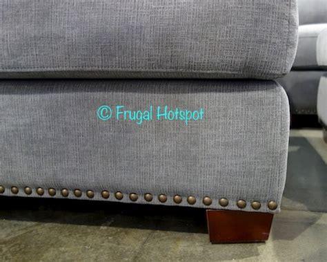 bainbridge fabric sectional with ottoman costco bainbridge fabric sectional with ottoman 899 99