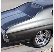 1970 Chevelle Gray Metallic In The Sun Chevy Musclecar