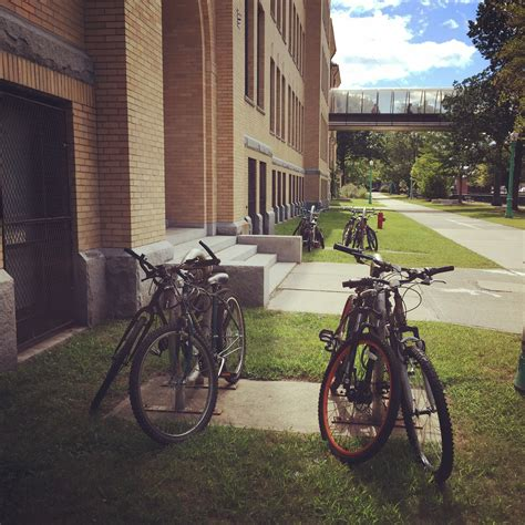 Bike Rack School by Richardhowe Walking Lowell Lowell High School