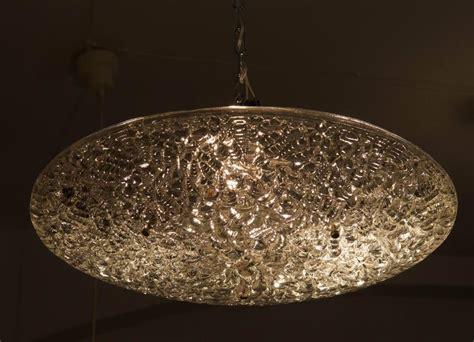 Ceiling Light Texture J T Kalmar Textured Glass Ceiling Light For Sale At 1stdibs