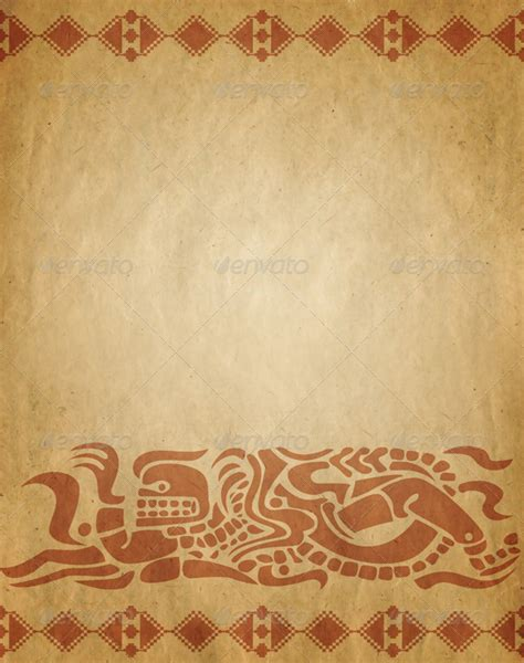 Vintage Newspaper Wallpaper Wallmaya Background In American Indian Style By Sateda2012 Graphicriver