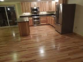 kitchen cabinets hardwood floors