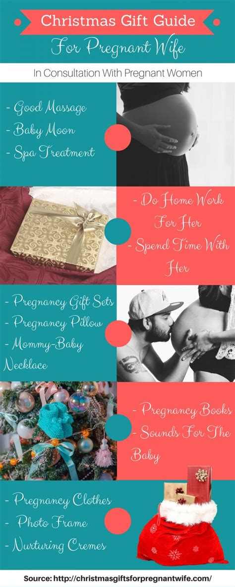 christmas ideas for pregnant wife best gifts for submit infographics