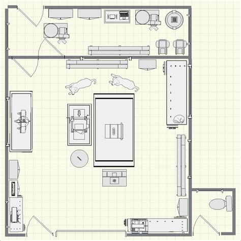 small woodworking shop floor plans creating using finewoodworking coms shop planner tool click to enlarge bees