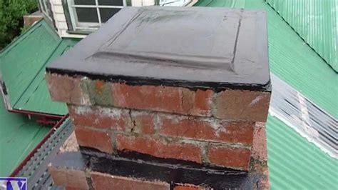 seal waterproof concrete brick chimney with liquid