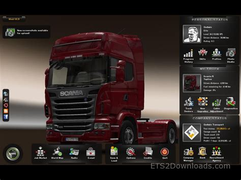 mod game euro truck driver ets 2 savegame 50 garages 154 drivers euro truck