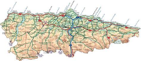 asturias mapa de carreteras asturianos de s 227 o paulo la importancia de llamarse asturias