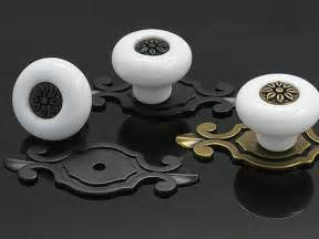 dresser knob drawer knobs pulls handles black white