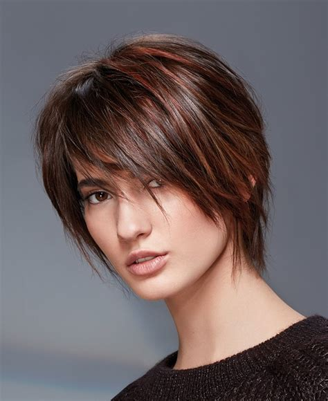 short choppy hairstyles and haircuts trends pictures a short brown hairstyle from the lights collection by
