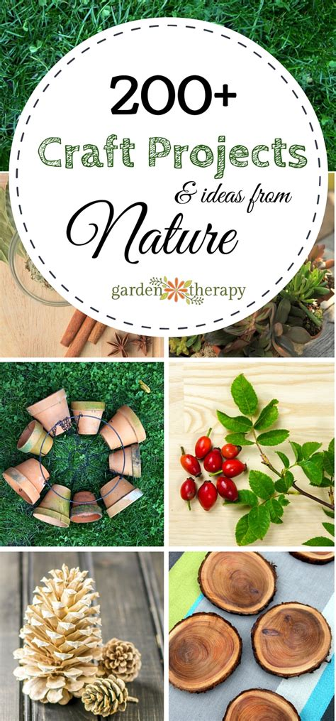 garden craft ideas craft projects garden therapy
