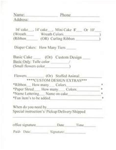 1000 Images About Cake Business Order Form On Pinterest Order Form Cake Pop Prices And Cakes Cake Pop Order Form Template Free