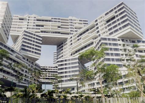 singapore apartments singapore s interlace apartment blocks has been named world building of the year daily mail