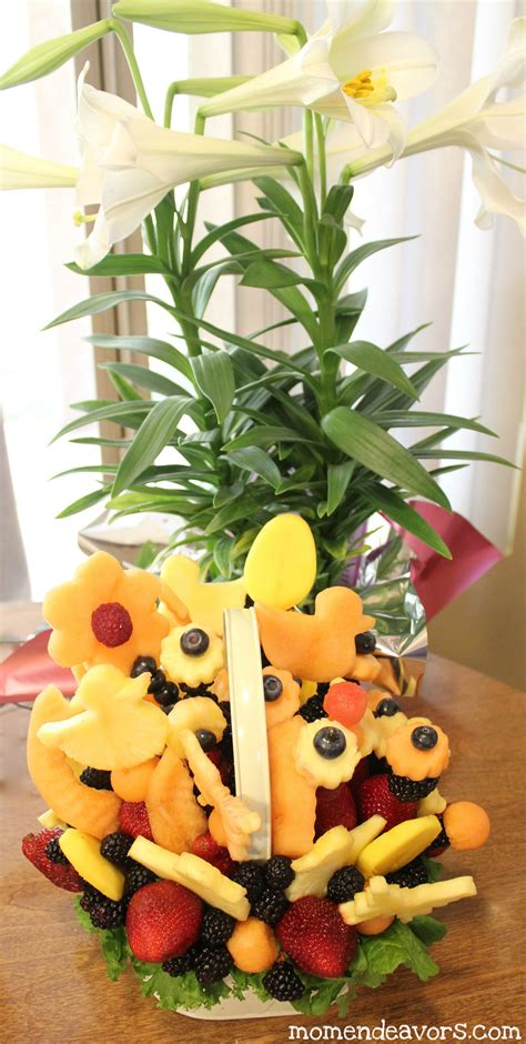 easter arrangements make your own edible arrangement for
