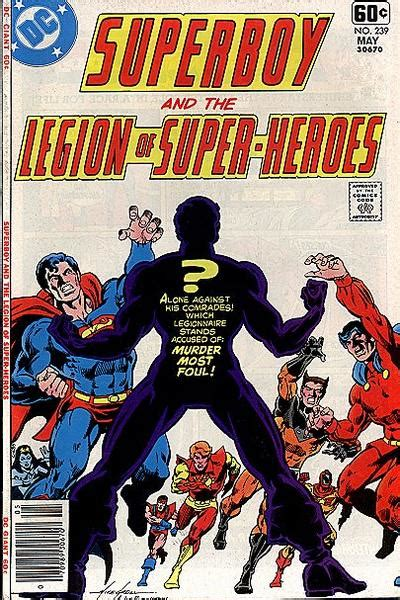superboy and the legion of heroes vol 2 superboy and the legion of heroes vol 1 239 dc