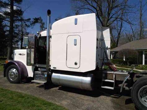 Cat Truck With Sleeper by Peterbilt 379 2000 Sleeper Semi Trucks