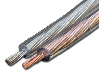 speaker wire 20 gauge clear 1000 ft | computer cable