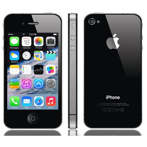 Iphone 4 Iphone 4s t 233 l 233 phone portable apple iphone 4s noir 32 go