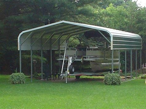 Metal Boat Carports pontoon boat cover custom metal boat cover for a pontoon