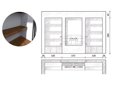 Come Costruire Un Angolo Bar In Cartongesso by La Parete Libreria In Cartongesso Cose Di Casa