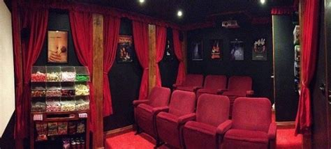 luxurious tiny theatre    yard