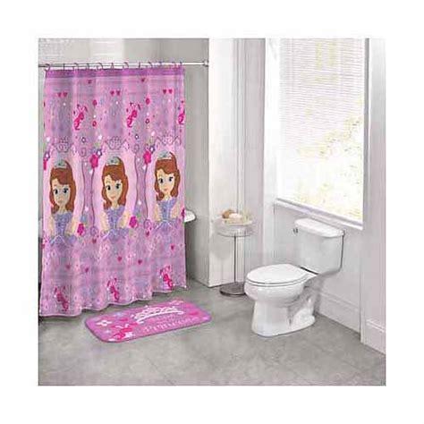 disney princess bathroom disney princess sofia the first 14 piece bath set walmart com
