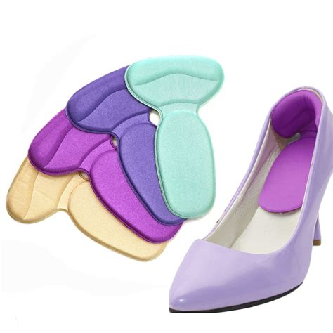 Massaging Gel Cushion Pad High Heel Shoes Alas Sepatu 1 aliexpress buy 1pair high heel shoes cushion pads multicolor insole for shoes foot