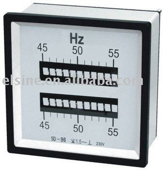 Chint Np96 Frequency Meter 45 55 Hz 96x96 220v vibrating frequency meter with reeds types view frequency meter elsine product details from