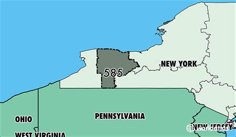 us area code new york where is area code 585 map of area code 585 rochester