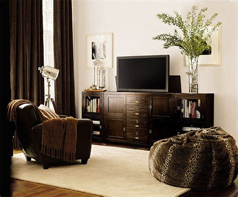 pottery barn media console rhys how to accessorize around your flat screen the boston