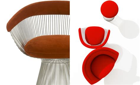Wire Armchair Platner Arm Chair Hivemodern Com