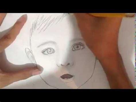 imagenes para relajar a bebes dibujo de una beb 233 a lapiz youtube