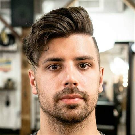 haircuts for male round faces best hairstyles for men with round faces