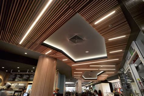 Ceiling Slats by Cedar Slat Ceilings Supawood Architectural Lining Systems