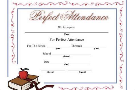 attendance certificate template word 18 attendance certificate templates free word psd